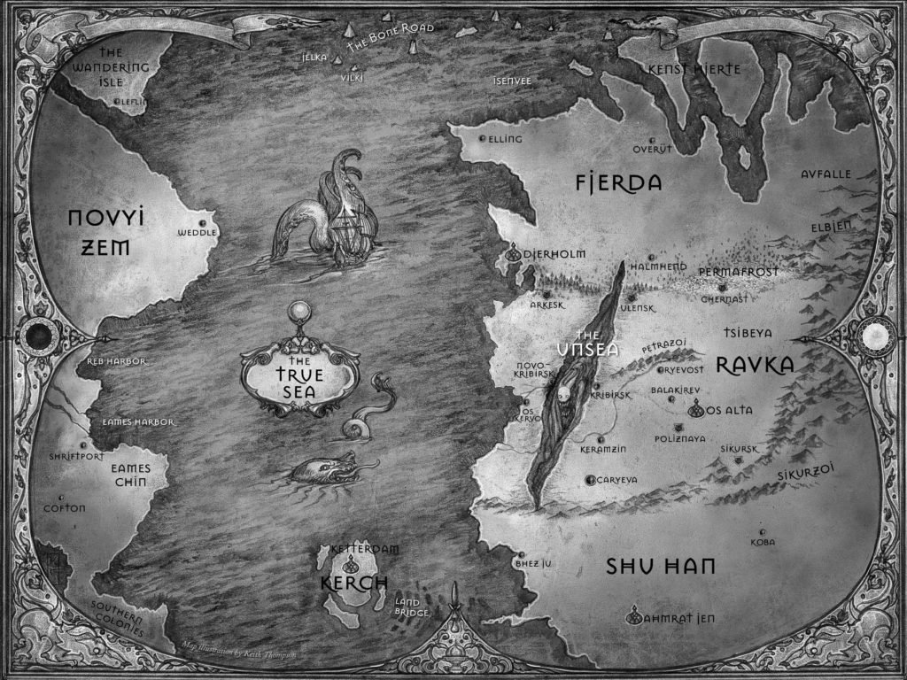 Grisha World Map