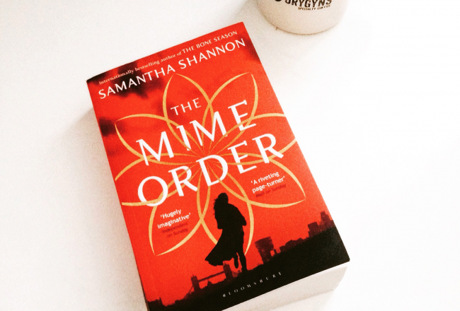 mime-order, samantha shannon, coffee