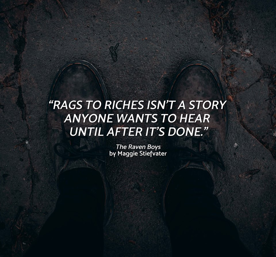 Quote from The Raven Boys by Maggie Stiefvater