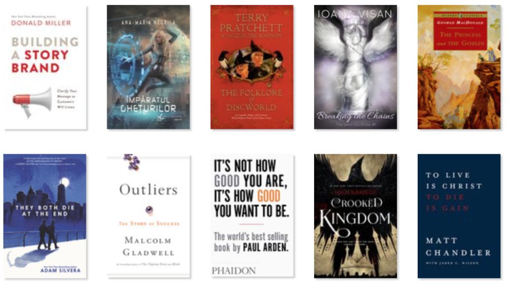 Cărți citite 2018