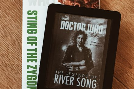 The Legends of River Song and other Doctor Who book